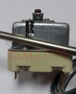 Аварийный трехфазный термостат 220°С