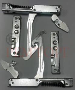 Комплект дверных петель с роликодержателем (Правая/Левая)