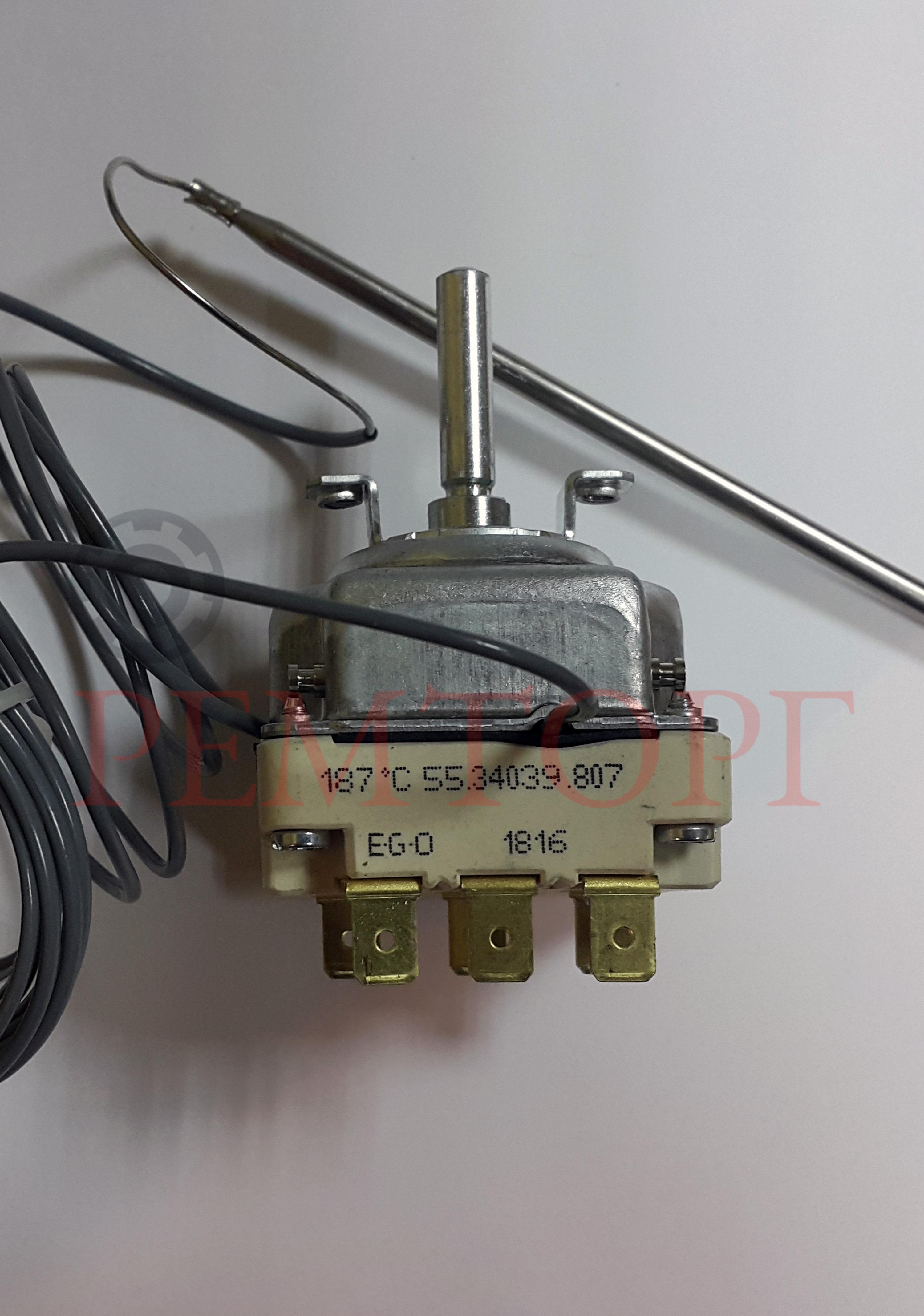 Трехфазный термостат 105-185°C