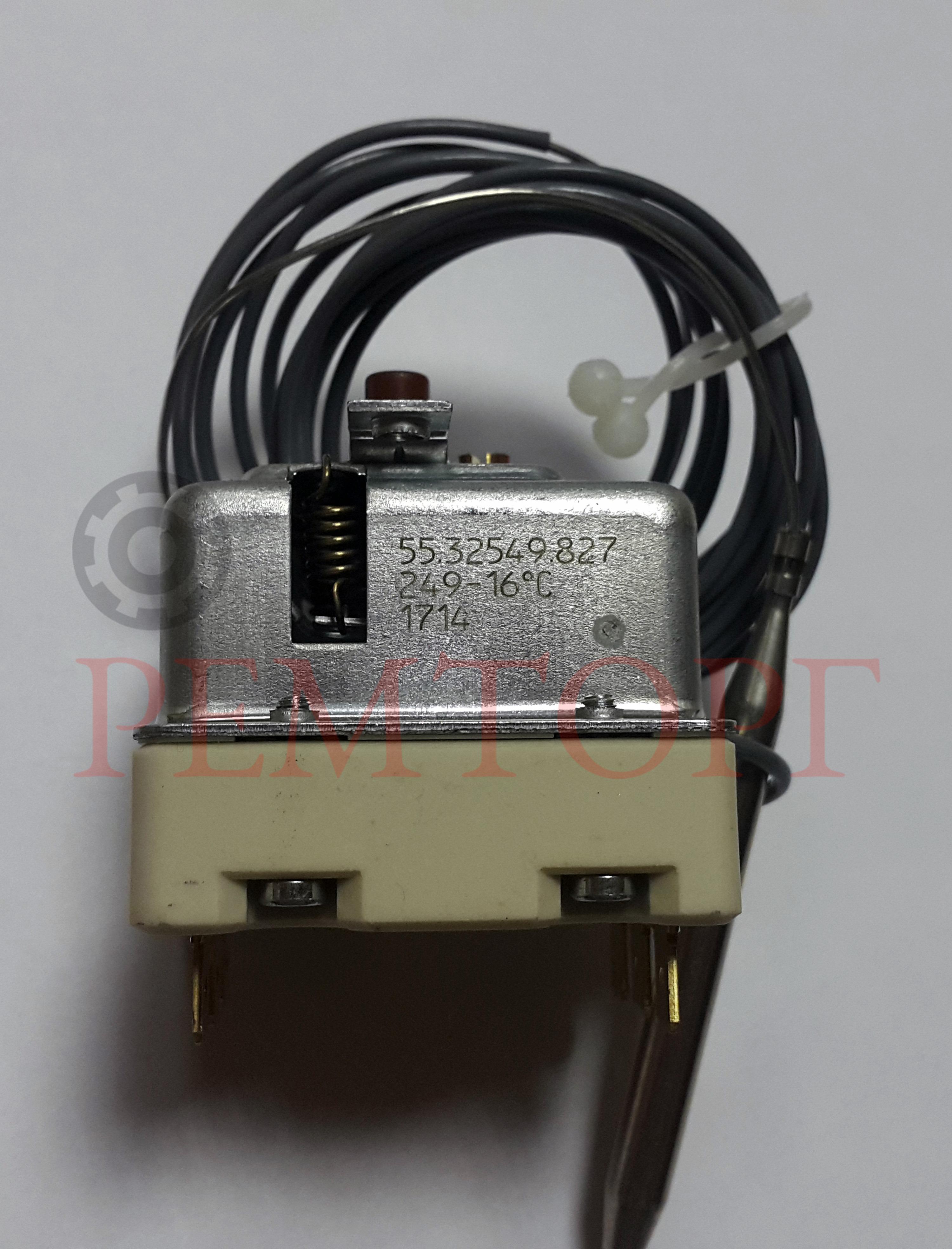Защитный трехфазный термостат 240°C