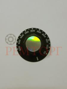 Черная ручка 50мм ø 50-500°C