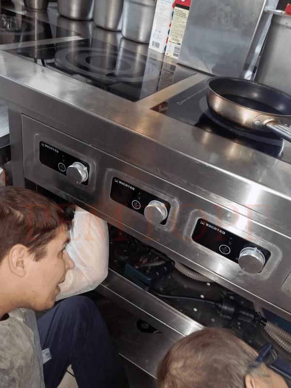 Ремонт оборудования ресторана